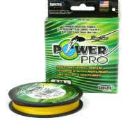 Плетеный шнур Power Pro Hi-Vis Yellow 135m 0,13mm/8,0kg