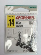 Застежка Owner 52482 Snap Swivel
