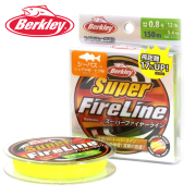 Плетеный шнур Berkley Super Fireline Yellow 150m
