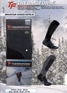 Термоноски Thermoform Mountain серые арт: HZTS-41