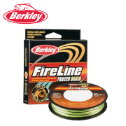 Плетеный шнур Berkley Fireline Tracer Braid Black/Green 270m