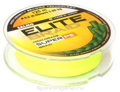 Плетеный шнур Salmo Elite Braid Yellow 125m