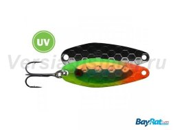 Блесна Bay Rat Lures SP-2.5 63мм/3,5гр Veggie Chrome