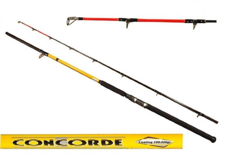 Удилище силовое Kaida Concord 2,4м, 50-150гр 142-50150-240